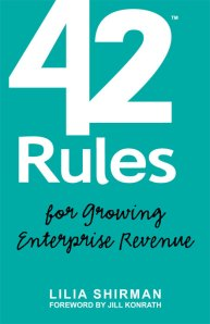 Book: 42 Rules for Growing Enterprise Revenue